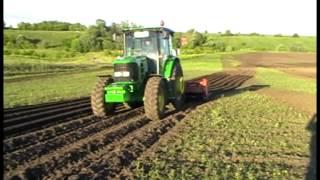 Испытание трактора John Deere 6D