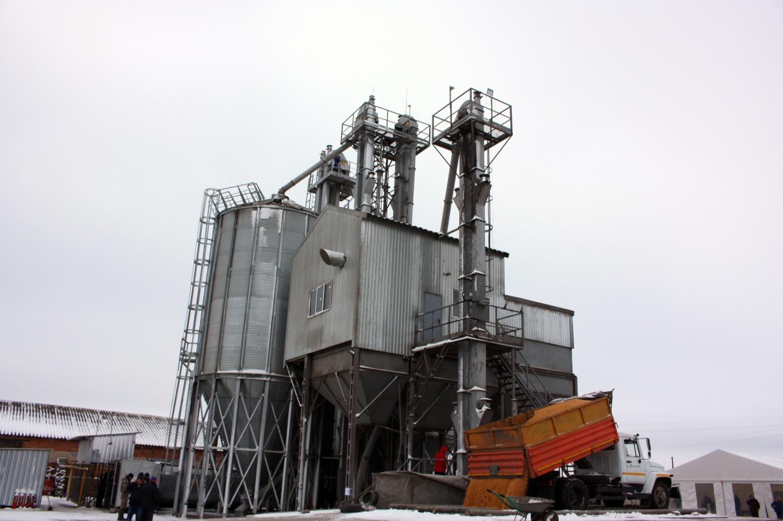 Зерносушильный комплекс в Орловской области