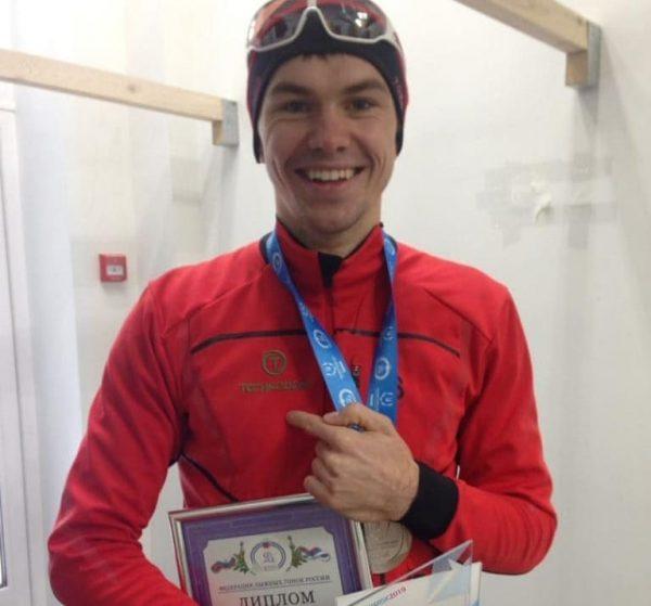 Максим Зубцов занял второе место на кубке России