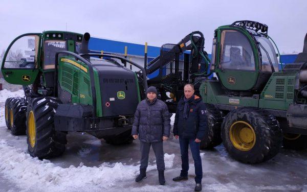 «Касимов-Древ» приобрел технику, которая позволит не только увеличить объемы производства, но и сократить затраты на заготовку леса в 2 раза