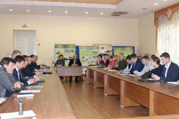 Совещание специалистов лесного хозяйства