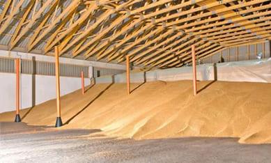 Колонны для вентиляции зерна