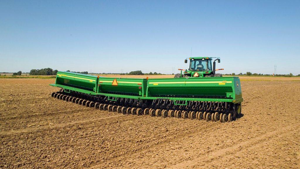 Складывающаяся зерновая сеялка 455