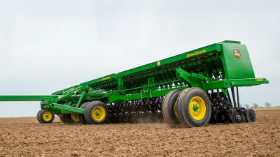 Фото Складывающаяся зерновая сеялка 455