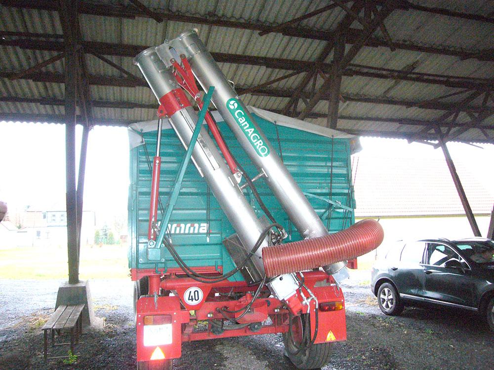 Шнеки серии DF с гидравлическим складыванием с боковым типом регулировки высоты при помощи гидравлических цилиндров