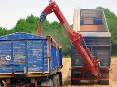 Фото Шнеки серии DF с гидравлическим складыванием без боковой регулировки высоты