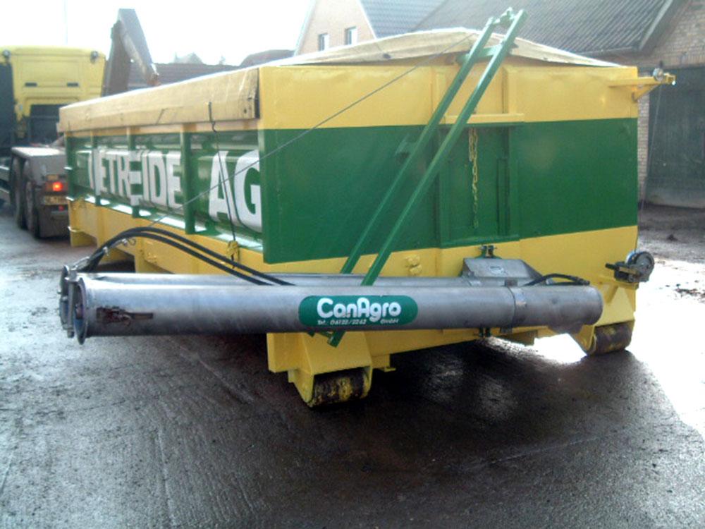 Шнеки серии DF с ручным механическим складыванием с боковой регулировкой высоты с помощью лебедки