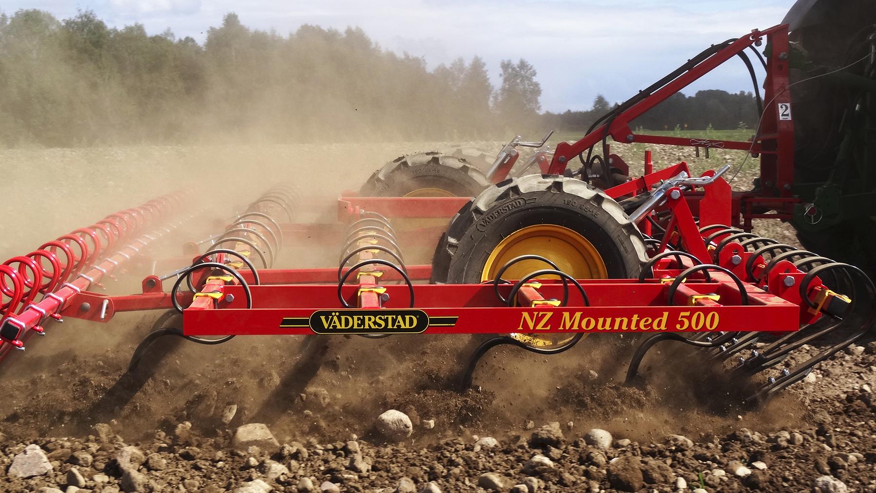 Фото Навесной культиватор NZ Mounted 500