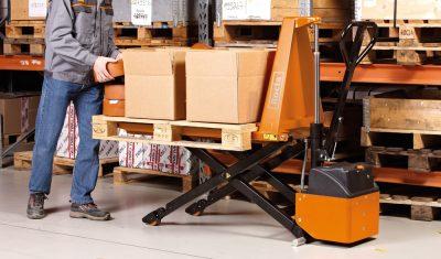 Фото Подъемные вилочные столы RXM10 / RXE10