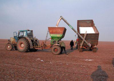 Фото Шнеки серии DF с ручным механическим складыванием с боковой регулировкой высоты с помощью лебедки
