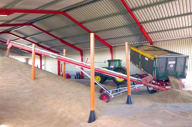 Фото Колонны для вентиляции зерна
