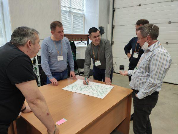 Обучающий тренинг для сотрудников дорожно-строительного направления