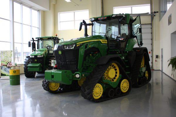 Начался тур трактора RX410 по регионам!