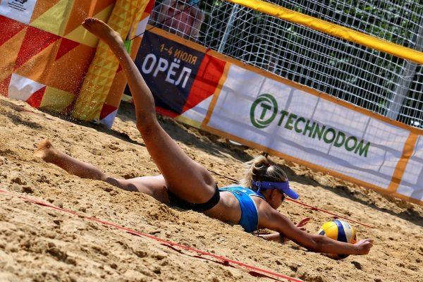 3 этап чемпионата России по пляжному волейболу в Орле