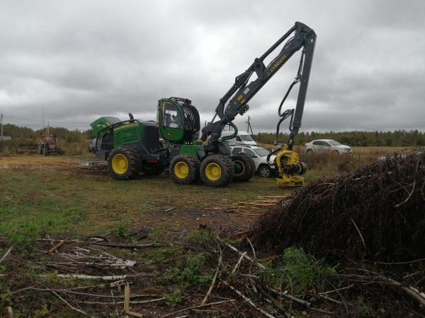 Лесозаготовительный комплекс John Deere в Брянской области